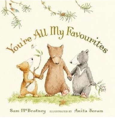 You're All My Favourites Board Book
