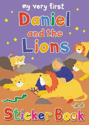 My Very First Daniel and the Lions sticker book