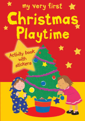My Very First Christmas Playtime: Activity book with stickers