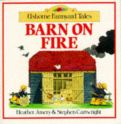 Barn on Fire Sticker Storybook