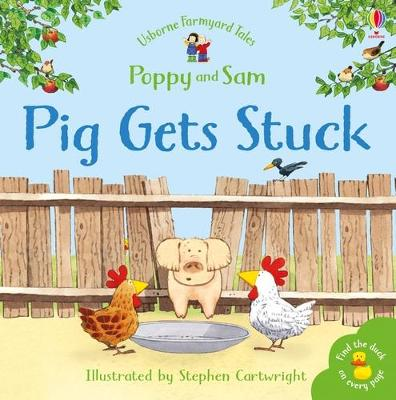 Pig Gets Stuck Sticker Book