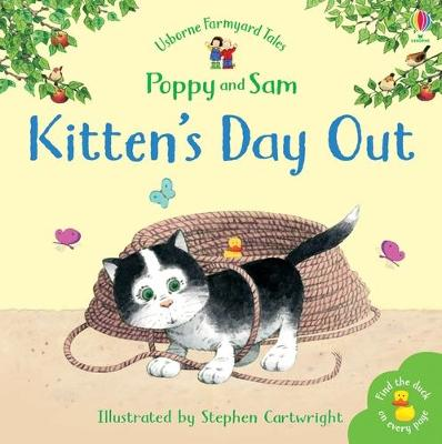 Kitten's Day Out Sticker Storybook