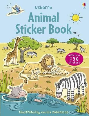 Animal Sticker Book with Stickers