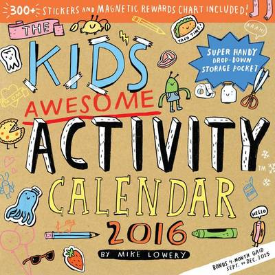 Kid's Awesome Activity Calendar