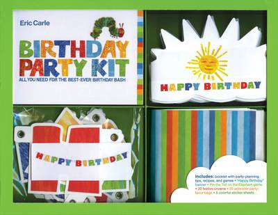 Eric Carle Birthday Party Kit