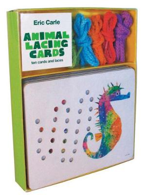 Eric Carle: Animal Lacing Cards: 10 Cards & Laces