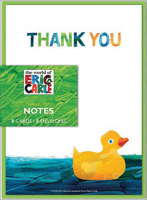 Eric Carle: Baby Shower Thank-You Notes