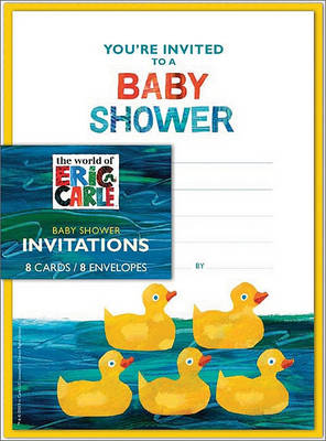 Eric Carle: Baby Shower Invitations