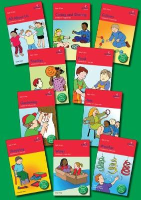 Activities for 3-5 Year Olds Set of 10 books