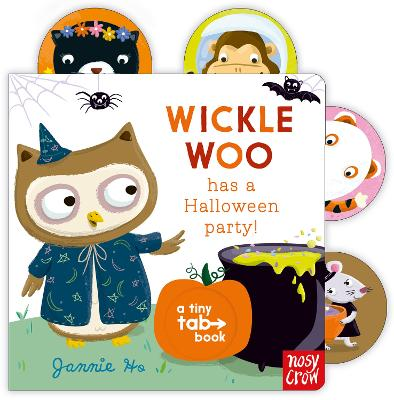 Tiny Tabs: Wickle Woo has a Halloween Party