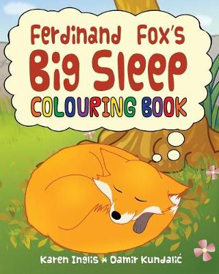 Ferdinand Fox's Big Sleep Colouring Book