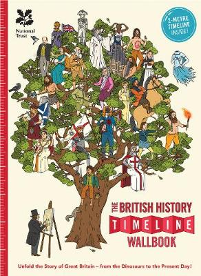 The British History Timeline Wallbook: Unfold the Story of Great Britain - from the Dinosaurs to the Present Day!