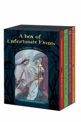 "A Series of Unfortunate Events: ""The Bad Beginning"", ""The Reptile Room"", ""The Wide Window"", ""The Miserable Mill"""
