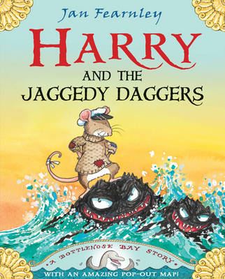 Book Reviews For Harry And The Jaggedy Daggers By Jan Fearnley Toppsta