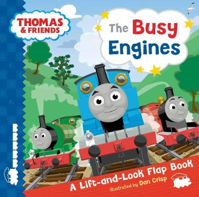 Thomas & Friends Busy Engines Lift-the-Flap Book