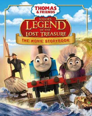 Thomas & Friends: Sodor's Legend of the Lost Treasure Movie Storybook