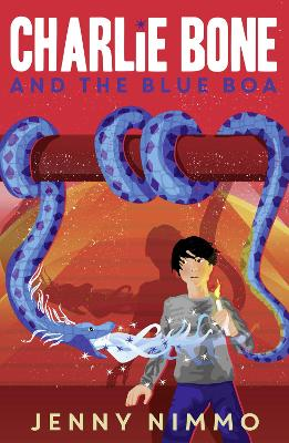 Charlie Bone and the Blue Boa