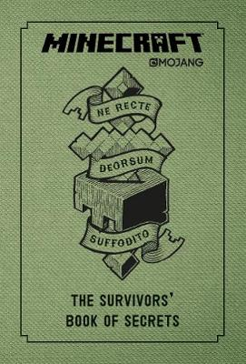 Minecraft: The Survivors' Book of Secrets: An Official Minecraft Book from Mojang