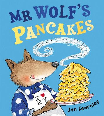 Book Reviews For Mr Wolfs Pancakes By Jan Fearnley Toppsta