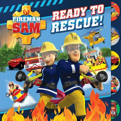 Fireman Sam: Ready to Rescue (Tabbed Board)
