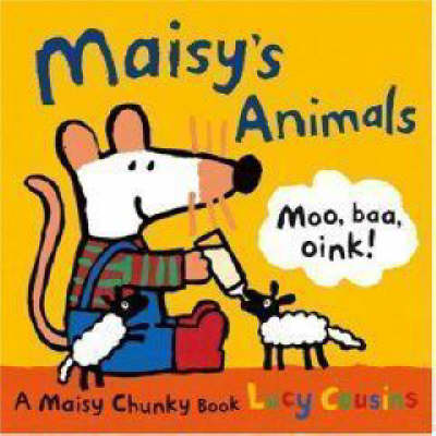 Maisy's Animals Chunky Board Book