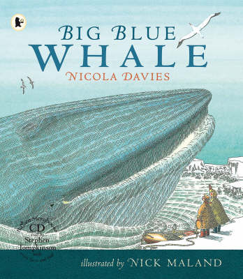 Big Blue Whale Pbk And Cd