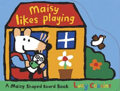Maisy Likes Playing Shaped Board Book