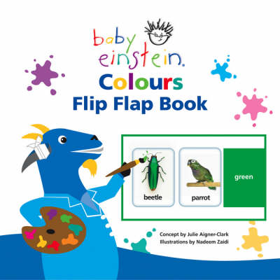 Baby Einstein Colours Flip Flap Book