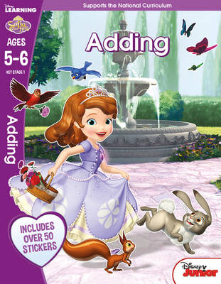 Sofia the First - Adding, Ages 5-6
