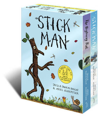 Stick Man & The Highway Rat Board Book Box Set