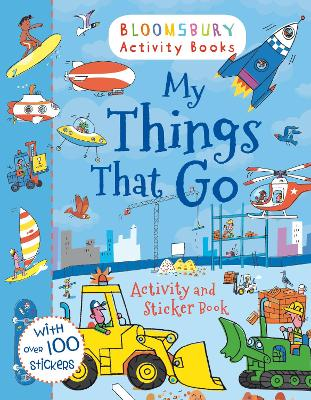 My Things That Go Activity and Sticker Book