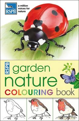 RSPB Garden Nature Colouring Book