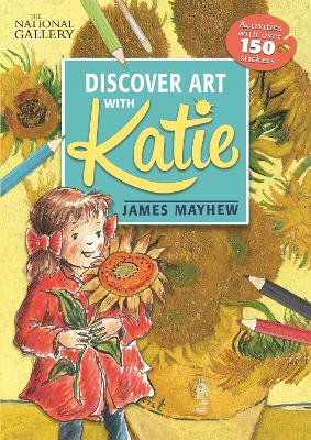 The National Gallery Discover Art with Katie: Activities with over 150 stickers