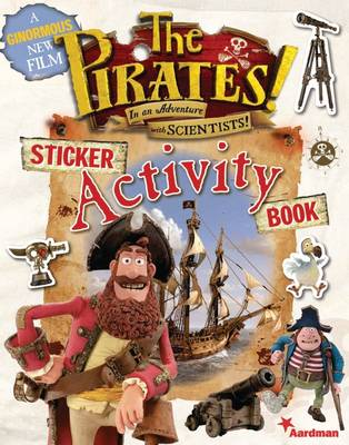 The Pirates! Sticker Activity Book