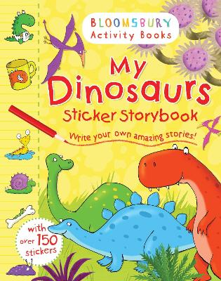 My Dinosaurs Sticker Storybook