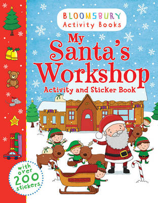 My Santa's Workshop Activity and Sticker Book