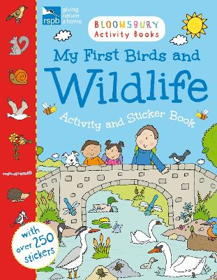 RSPB My First Birds and Wildlife Activity and Sticker Book