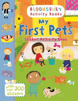 My First Pets Sticker Activity Book
