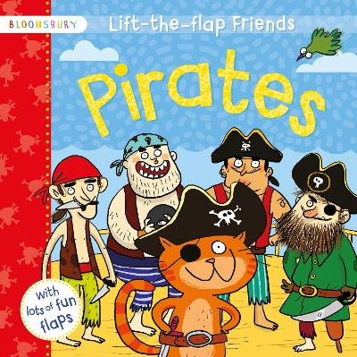 Lift-the-flap Friends Pirates