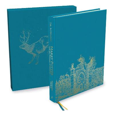 Harry Potter and the Prisoner of Azkaban: Deluxe Illustrated Slipcase Edition