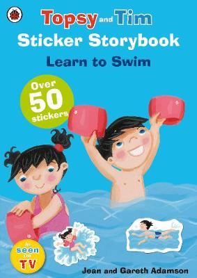 Topsy and Tim Sticker Storybook: Learn to Swim