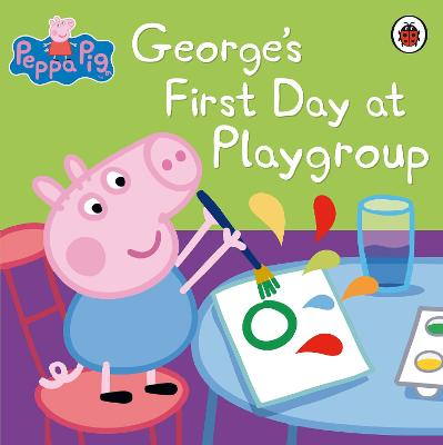 George's First Day at Playgroup: Sticker Book