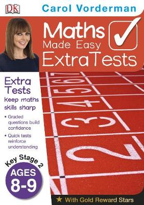 Maths Made Easy Extra Tests Ages 8-9 Key Stage 2