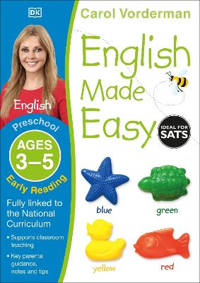 English Made Easy Early Reading Ages 3-5 Preschool Key Stage 0