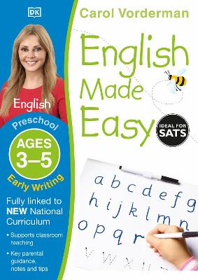 English Made Easy Early Writing Ages 3-5 Preschool Key Stage 0