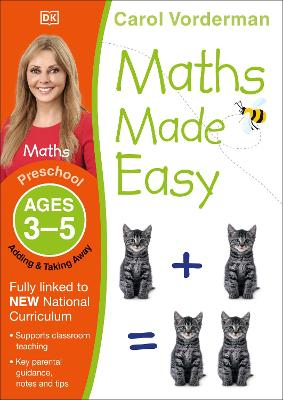 Maths Made Easy Adding and Taking Away Ages 3-5 Preschool Key Stage 0