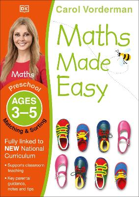 Maths Made Easy Matching and Sorting Ages 3-5 Preschool Key Stage 0