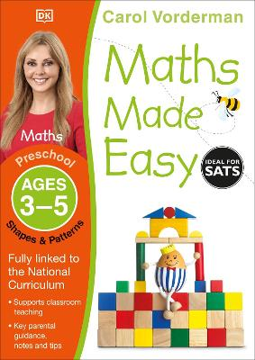 Maths Made Easy Shapes and Patterns Ages 3-5 Preschool Key Stage 0