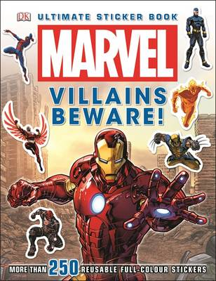 Marvel Villains Beware Ultimate Sticker Book!