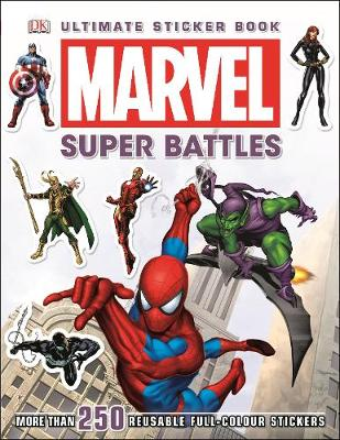 Marvel Super Battles Ultimate Sticker Book